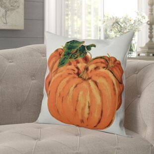 Rossiter Tres Calabazas Holiday Print Outdoor Throw Pillow