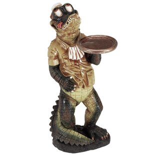Gator Waiter Character Outdoor Table