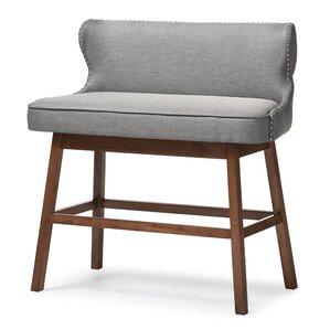 Isobel Upholstered Bar Bench  sc 1 st  Wayfair & Barstool Bench | Wayfair islam-shia.org