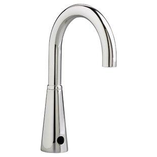 American Standard Selectronic Gooseneck Single Hole Bathroom Faucet Less Handle
