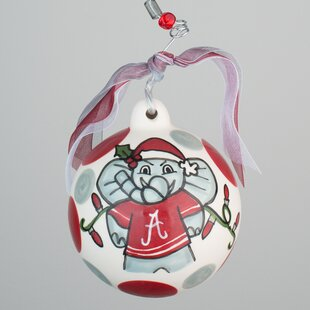 Alabama Elephant Ball Ornament By Glory Haus