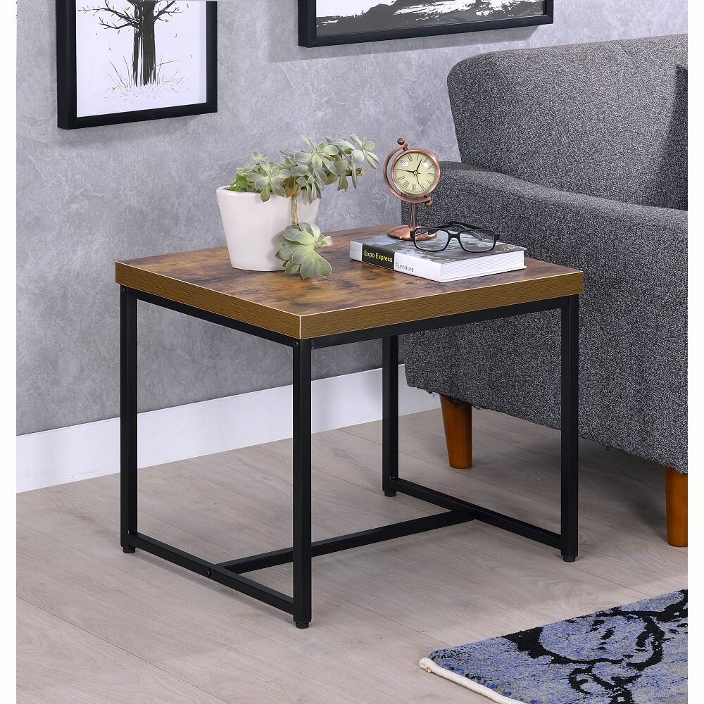 17 Stories Clemens Sled End Table Wayfair
