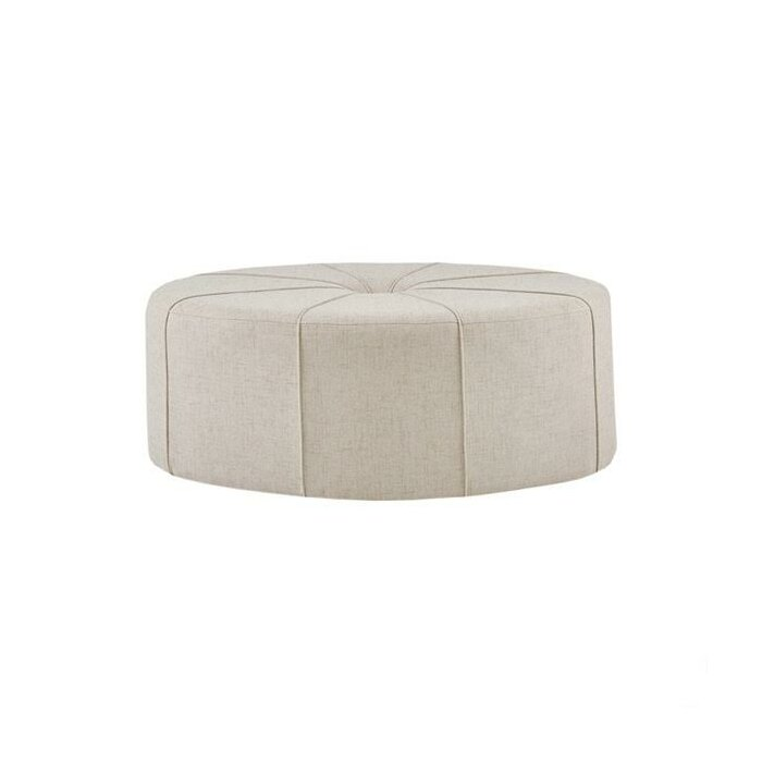 Pleasing Telly Oval Tufted Cocktail Ottoman Evergreenethics Interior Chair Design Evergreenethicsorg
