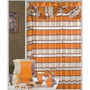 Deals Lorraine Decorative Shower Curtain ByDaniels Bath