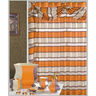 Lorraine Decorative Single Shower Curtain