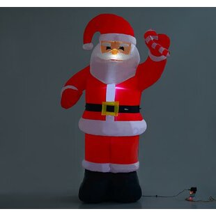 Christmas Santa Claus Inflatable Decoration By The Seasonal Aisle