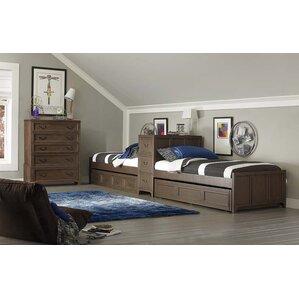 Dark Wood Kids\' Bedroom Sets You\'ll Love   Wayfair