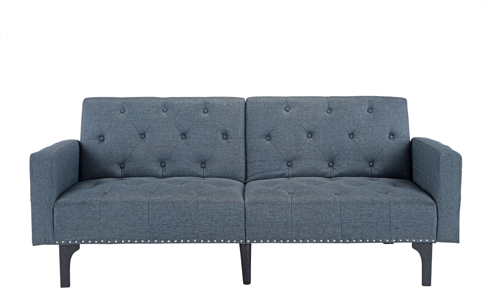 Wrought Studio Rather Modern Tufted Reclining Sleeper Sofa & Reviews ...