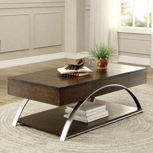 Orren Ellis Daphine Wooden Coffee Table