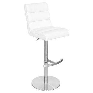 Hylton Height Adjustable Swivel Bar Stool By Metro Lane