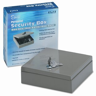 Securit Steel Personal Cash / Security Box by PM Company