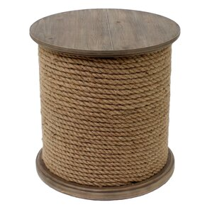 Baytowne Rope End Table by Crestview Collection