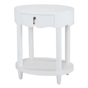 Vinewood End Table by Bay Isle Home