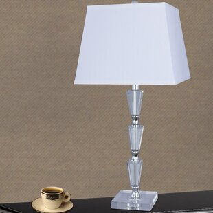 Basnight Crystal and Metal 27.5 Table Lamp