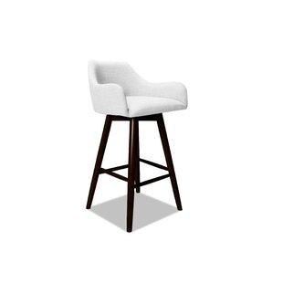 Vicky 26 Swivel Bar Stool Ivy Bronx