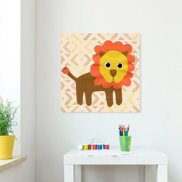 Isabelle Max Hicks L For Lion Canvas Art Wayfair