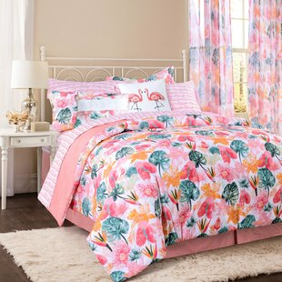 Bay Isle Home Shearman Cotton Reversible Comforter Set