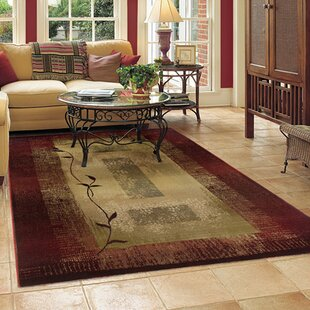 World Menagerie Consolata Crimson Flame Redarea Rug Wayfair