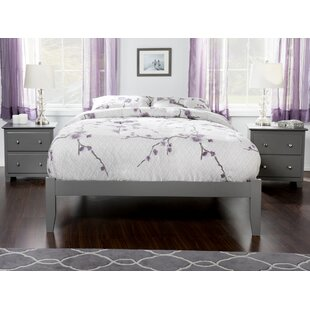 Winston Porter Rola Full/Double Platform Bed with Open Footboard