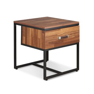 Ivy Bronx Marciniak End Table with Storage