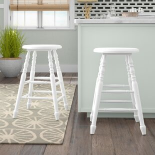 Hampton 24 Bar Stool (Set of 2) by Beachcrest Home