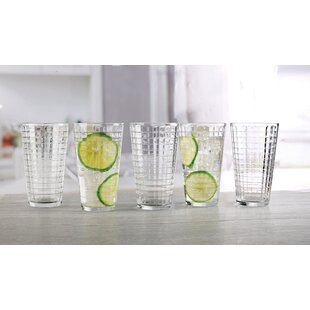 Shanelle 15.75 oz. Glass Every Day Glasses (Set of 10)