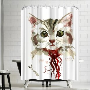 Suren Nersisyan Cat Single Shower Curtain