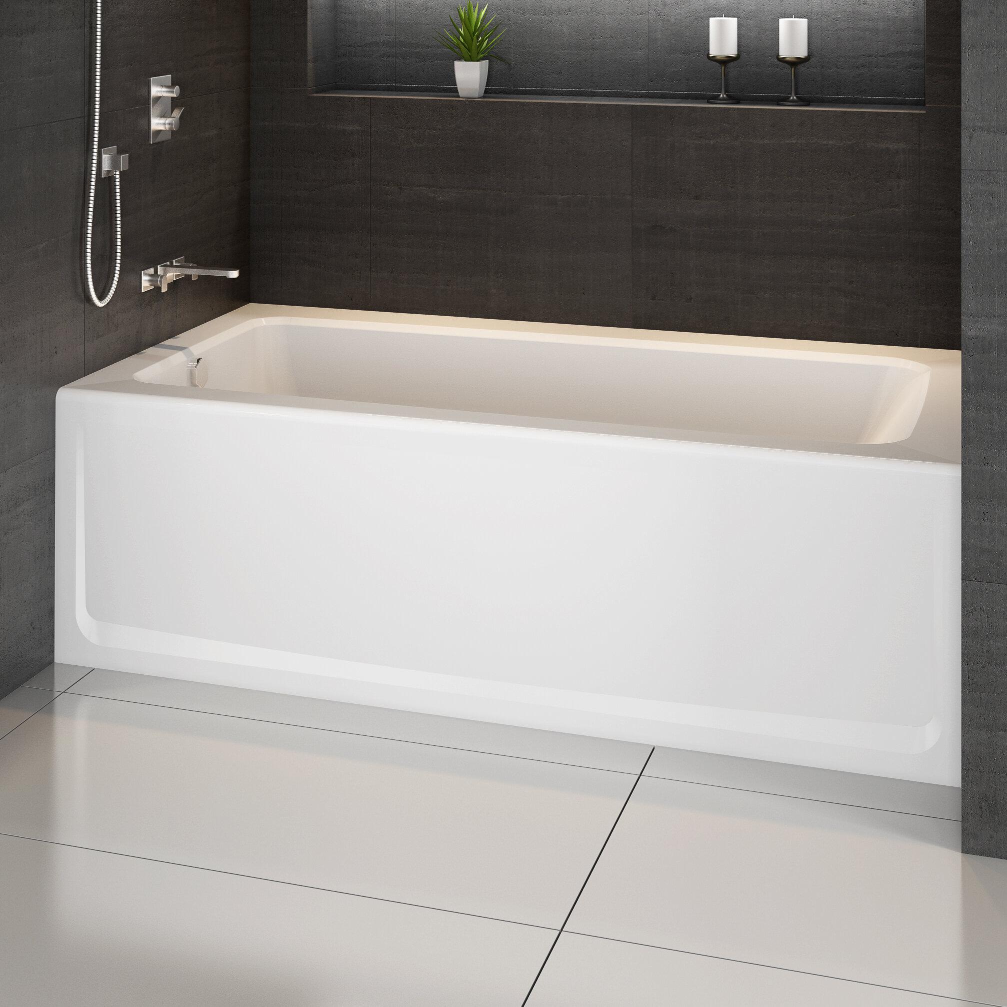 Signature 60 X 32 Alcove Bathtub In Skirted Soaking