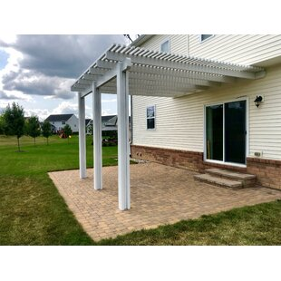 8 Ft. D Aluminum Pergola by Heritage Patios