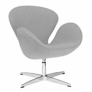 Orren Ellis GroveHill Swivel Lounge Chair (Set of 2)
