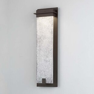 Winston Porter Lafrance 1-Light LED Outdoor Sconce