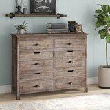 Lata 6 Drawer Double Dresser by Loon Peak®
