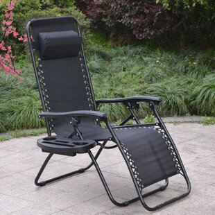 Reclining Zero Gravity Chair (Set of 2) by Famis Corp