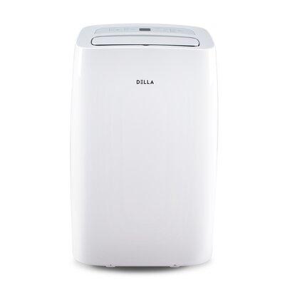 10000 BTU Portable Air Conditioner with Heater and Remote Della