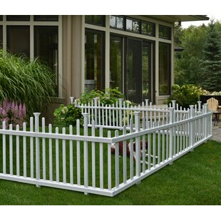 W Madison No Dig Garden Fence Panel (Set Of 2)