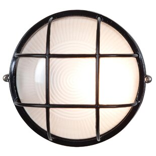 Inexpensive Blithedale 1-Light Outdoor Bulkhead Light By Beachcrest Home
