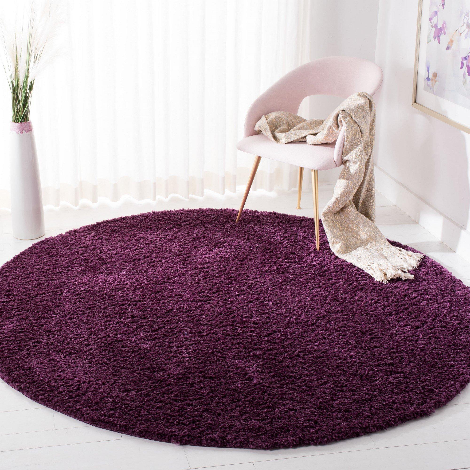Ivy Bronx Bartz Purple Area Rug Reviews Wayfair Ca