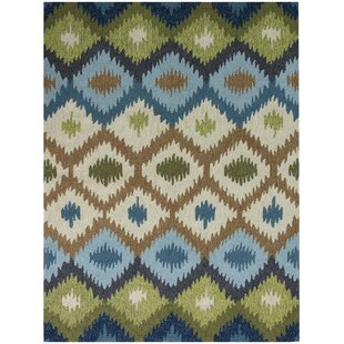 Pifer Blue Indoor/Outdoor Area Rug