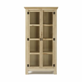 Colucci Reclaimed Glass 2 Door Accent Cabinet by Gracie Oaks