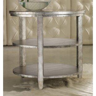 Reviews Melange Maverick End Table ByHooker Furniture