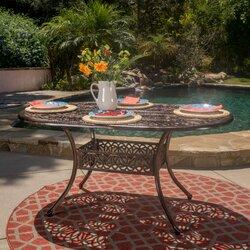 Astoria Grand Fuller Outdoor Dining Table Reviews Wayfair