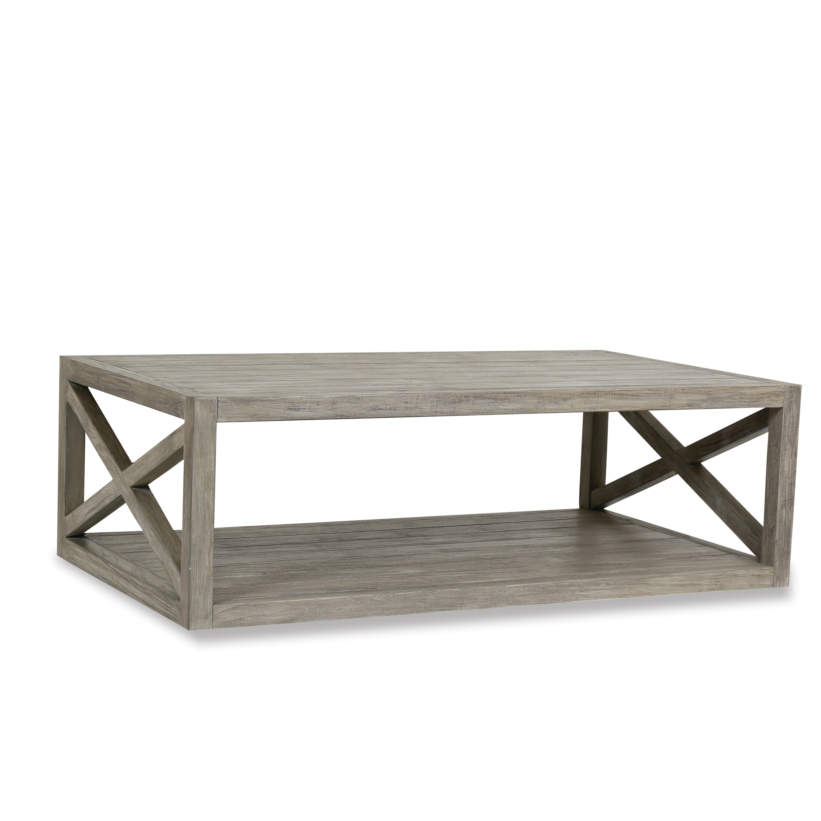 Solid Wood Coffee Table Wayfair: Sunset West Modena Solid Wood Coffee Table