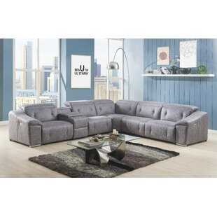 Shop Slagle Reclining Sectional by Latitude Run