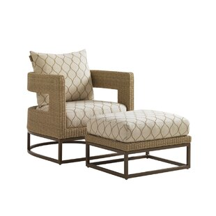 Tommy Bahama Home Aviano Barrel Chair wit..