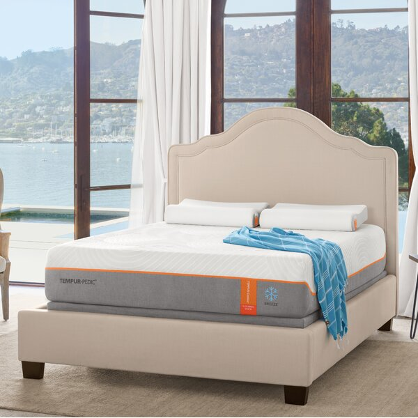 Adjule Tempur Pedic Bed White