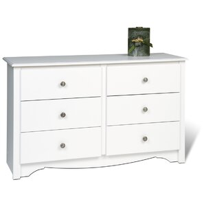 Sybil Condo 6 Drawer Double Dresser
