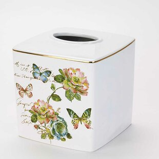 Find for Butterfly Garden Tissue Box Cover ByAvanti Linens