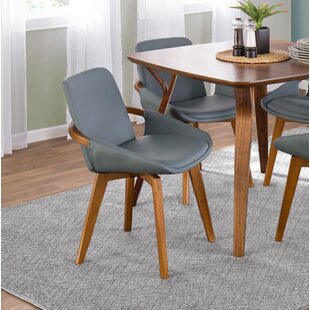 April Upholstered Dining Chair Wrought Studio