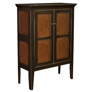 Jeremiahs Pie Safe Storage 2 Door Accent Cabinet