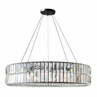 Everly Quinn Jacques Round 10-Light Chandelier